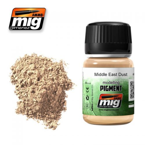 AMMO BY MIG JIMENEZ  3018 MIDDLE EAST DUST MODELLING PIGMENT 35ML