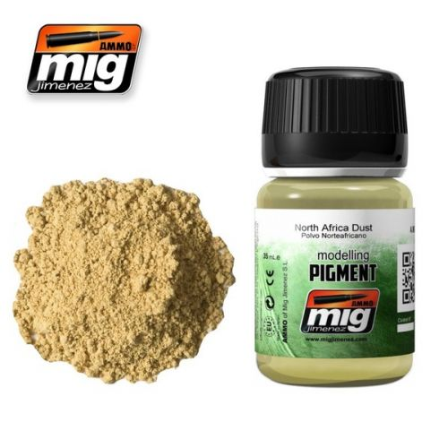 AMMO BY MIG JIMENEZ  3003 NORTH AFRICA DUST MODELLING PIGMENT 35ML