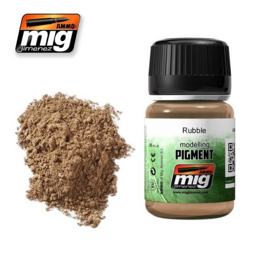 AMMO BY MIG JIMENEZ  3013 RUBBLE MODELLING PIGMENT 35ML