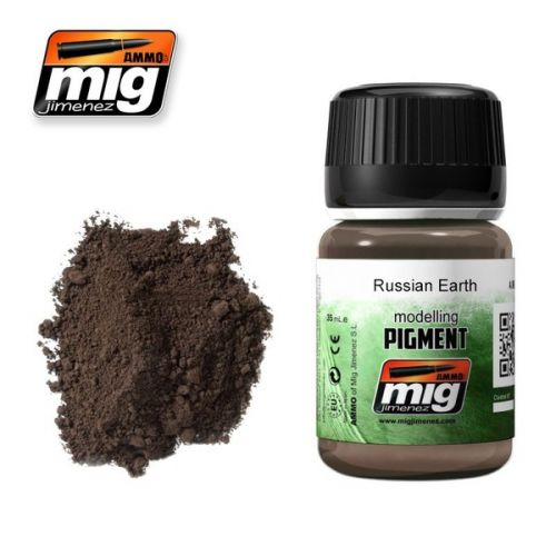 AMMO BY MIG JIMENEZ  3014 RUSSIAN EARTH MODELLING PIGMENT 35ML