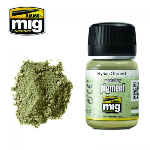 AMMO BY MIG JIMENEZ  3025 SYRIAN GROUND MODELLING PIGMENT 35ML