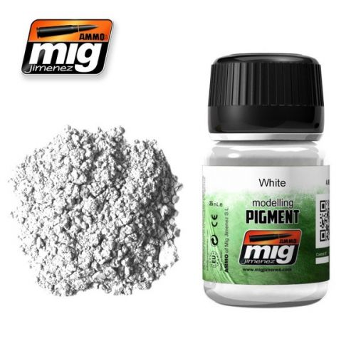 AMMO BY MIG JIMENEZ  3016 WHITE PIGMENT 35ML