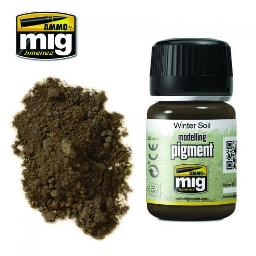 AMMO BY MIG JIMENEZ  3029 WINTER SOIL MODELLING PIGMENT 35ML