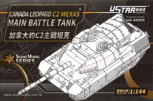 USTAR 1/144 60005 CANADA LEOPARD C2 MEXAS MBT
