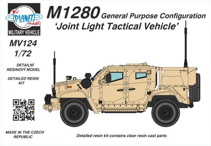 PLANET MODELS 1/72 MV124 M1280 JOINT LIGHT TACTICAL VEHICLE