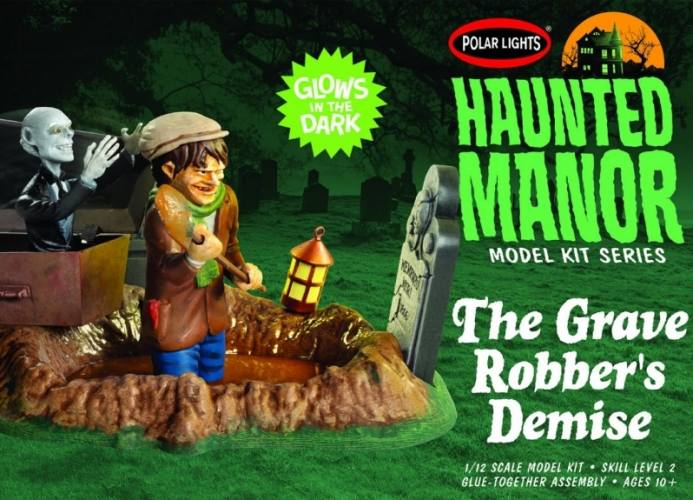 POLAR LIGHTS 1/12 976 HAUNTED MANOR THE GRAVE ROBBER S DEMISE
