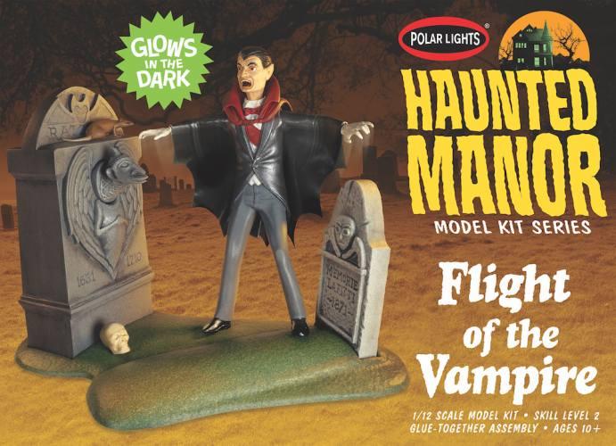 POLAR LIGHTS 1/12 977 HAUNTED MANOR FLIGHT OF THE VAMPIRE