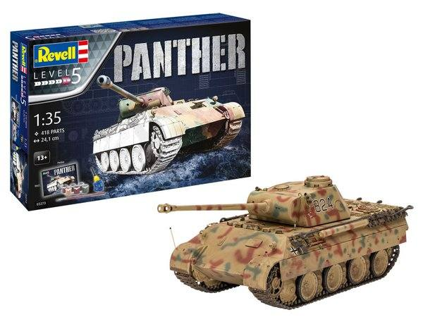 REVELL 1/35 03273 PANTHER AUSF.D GIFT SET