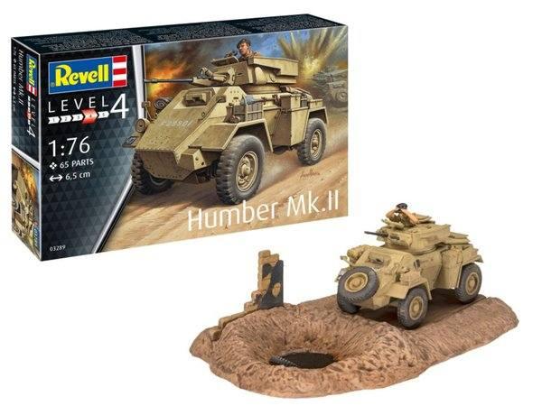 REVELL 1/76 03289 HUMBER MK.II
