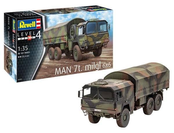 REVELL 1/35 03291 MAN 7T MILGL 6X6