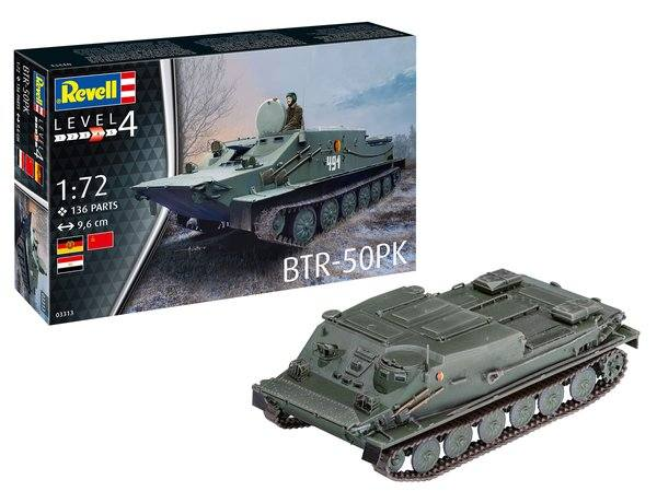 REVELL 1/72 03313 BTR-50PK
