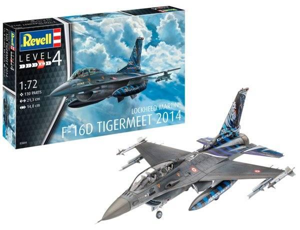 REVELL 1/72 03844 LOCKHEED MARTIN F-16D TIGERMEET 2014
