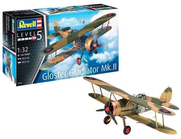 REVELL 1/32 03846 GLOSTER GLADIATOR MK.II