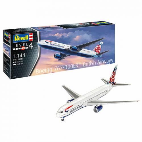 REVELL 1/144 03862 BOEING 767-300ER BRITISH AIRWAYS