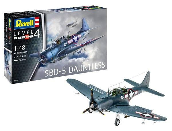 REVELL 1/48 03869 SBD-5 DAUNTLESS