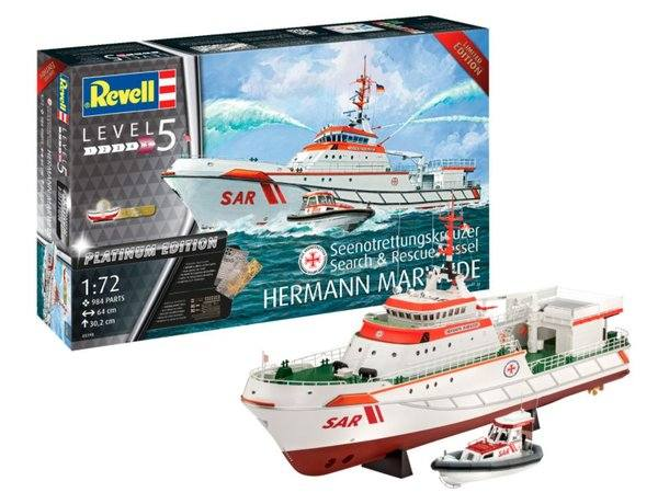 REVELL 1/72 05198 HERMANN MARWEDE SEARCH AND RESCUE  VESSEL  UK SALE ONLY