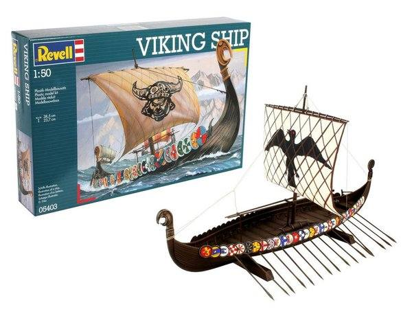 REVELL 1/50 05403 VIKING SHIP