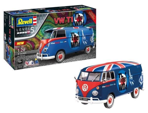 REVELL 1/24 05672 VW T1 THE WHO GIRFT SET