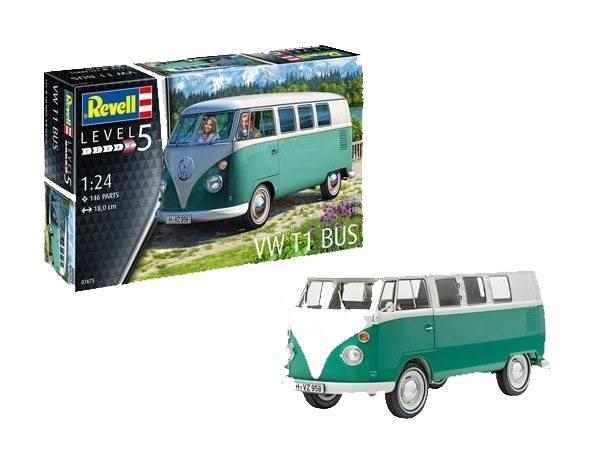 REVELL 1/24 07675 VW T1 BUS