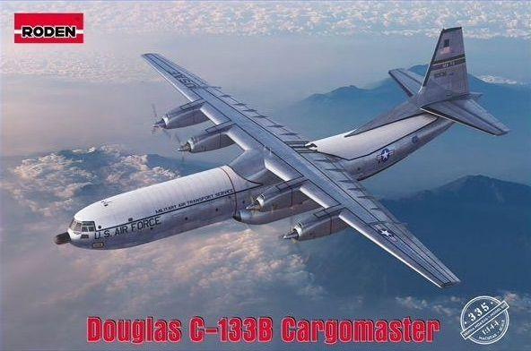 RODEN 1/144 335 DOUGLAS C-133B CARGOMASTER