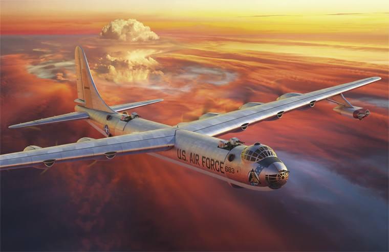RODEN 1/144 337 CONVAIR B-36D/F/H/J PEACEMAKER