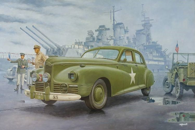 RODEN 1/35 815 1941 PACKARD CLIPPER