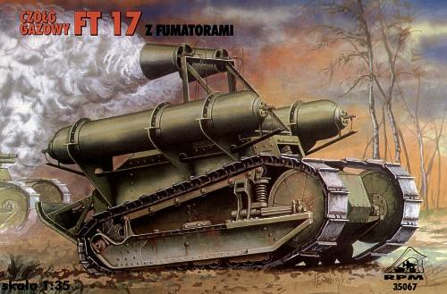 RPM 1/35 35067 Chemical Renault FT-17