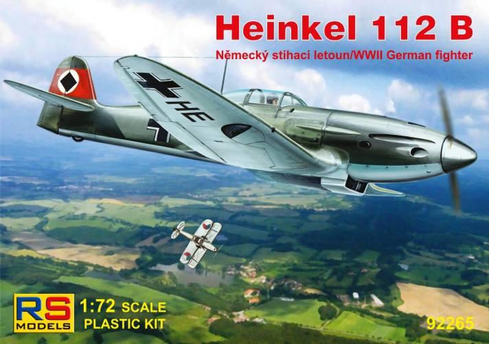 RS MODELS 1/72 92265 HEINKEL 112B