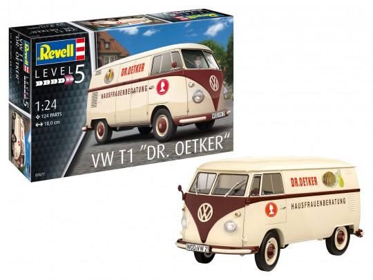 REVELL 1/24 07677 VW T1 DR OETKER