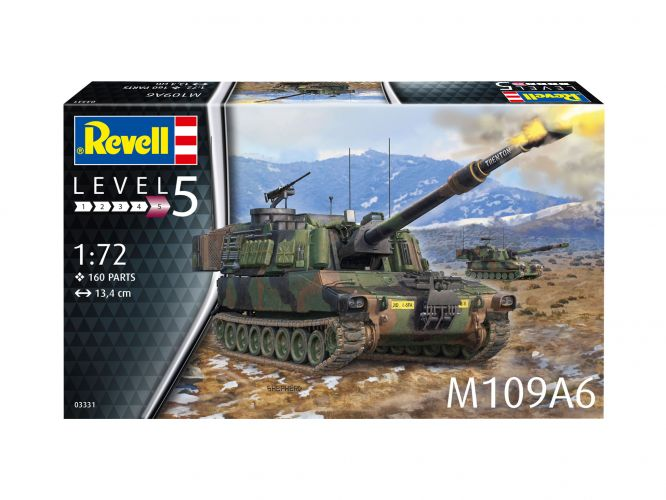 REVELL 1/72 03331 M109A6