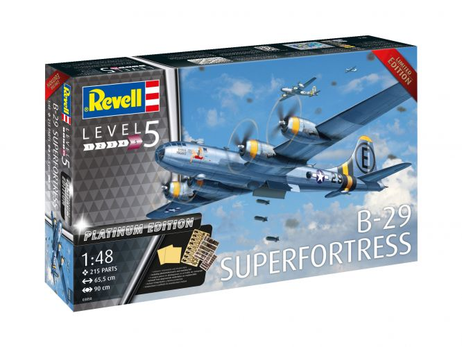 REVELL 1/48 03850 B-29 SUPERFORTRESS PLATINUM EDITION  UK SALE ONLY