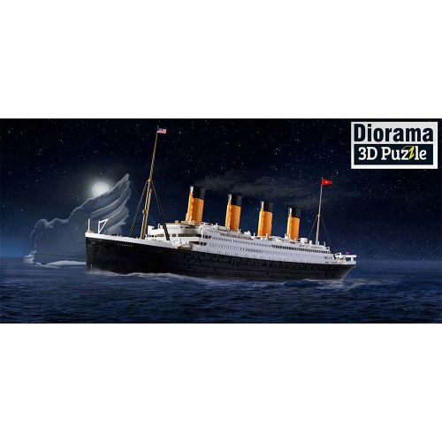 REVELL 1/600 05599 RMS TITANIC EASY CLICK AND 3D PUZZLE