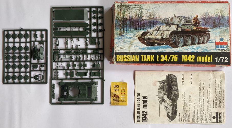 KINGKIT MODEL SCRAPYARD 1/35 TAMIYA - 35059 RUSSIAN TANK T34/76 1943 - PRIMED
