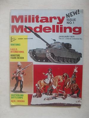MILITARY MODELLING  MILITARY MODELLING 1971 JAN