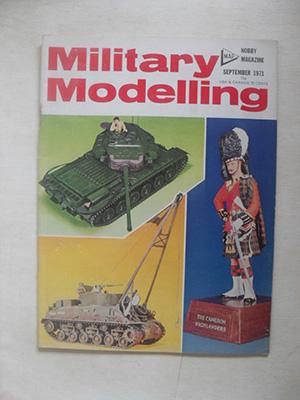 MILITARY MODELLING  MILITARY MODELLING 1971 SEPTEMBER