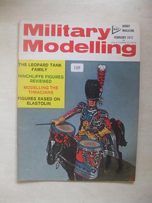 MILITARY MODELLING  MILITARY MODELLING 1972 FEB
