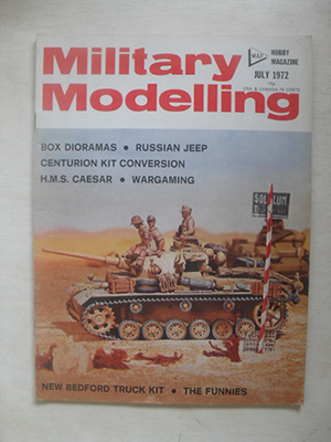 MILITARY MODELLING  MILITARY MODELLING 1972 JULY
