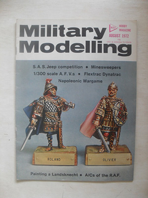 MILITARY MODELLING  MILITARY MODELLING 1972 AUGUST