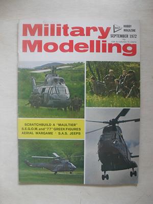 MILITARY MODELLING  MILITARY MODELLING 1972 SEPTEMBER
