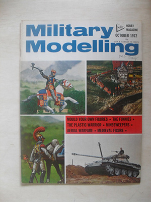 MILITARY MODELLING  MILITARY MODELLING 1972 OCTOBER