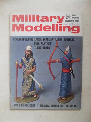 MILITARY MODELLING  MILITARY MODELLING 1972 NOVEMBER