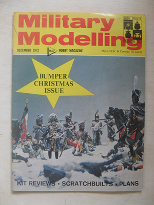 MILITARY MODELLING  MILITARY MODELLING 1972 DEC