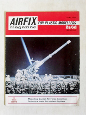 AIRFIX  AIRFIX MAGAZINE 1969 JUNE
