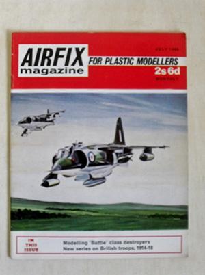 AIRFIX  AIRFIX MAGAZINE 1969 JULY