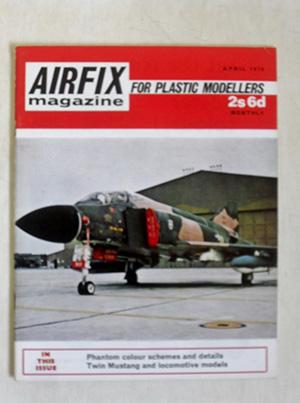 AIRFIX  AIRFIX MAGAZINE 1970 APRIL