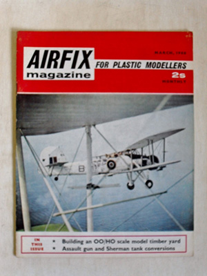 AIRFIX  AIRFIX MAGAZINE 1968 MARCH