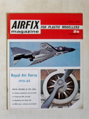 AIRFIX  AIRFIX MAGAZINE 1968 APRIL