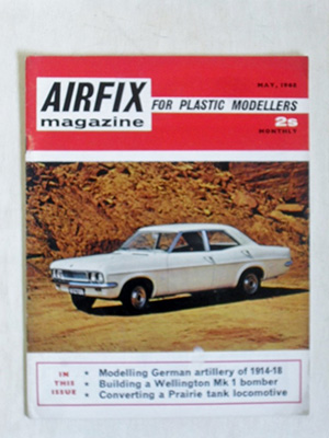 AIRFIX  AIRFIX MAGAZINE 1968 MAY