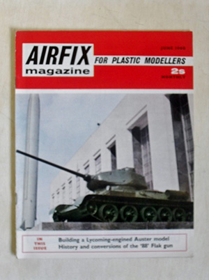 AIRFIX  AIRFIX MAGAZINE 1968 JUNE