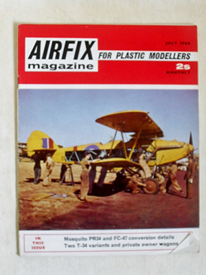 AIRFIX  AIRFIX MAGAZINE 1968 JULY